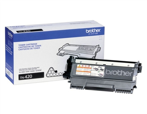 Original Brother TN-420 Black Laser Toner Cartridge