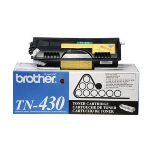 Original Brother TN-430 Black Laser Fax Toner Cartridge