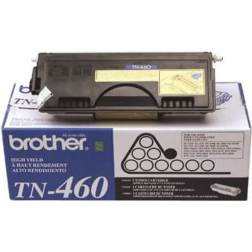 Original Brother TN-460 Black High-Yield Laser Toner Cartridge