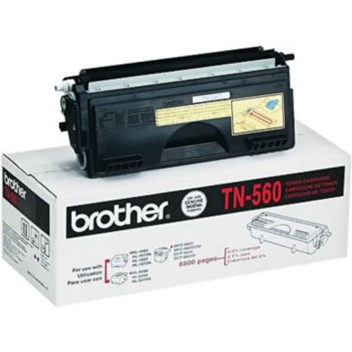 Original Brother TN-560 Black High-Yield Laser Toner Cartridge
