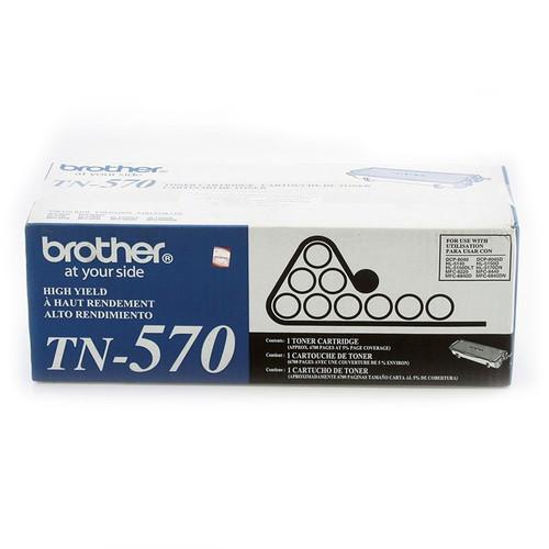 Original Brother TN-570 Black High-Yield Laser Toner Cartridge