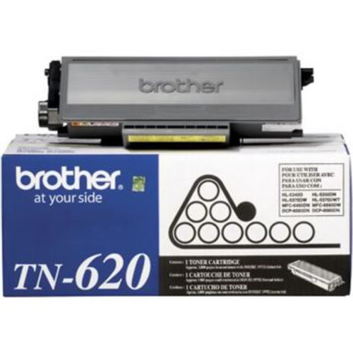 Original Brother TN-620 Black Laser Toner Cartridge