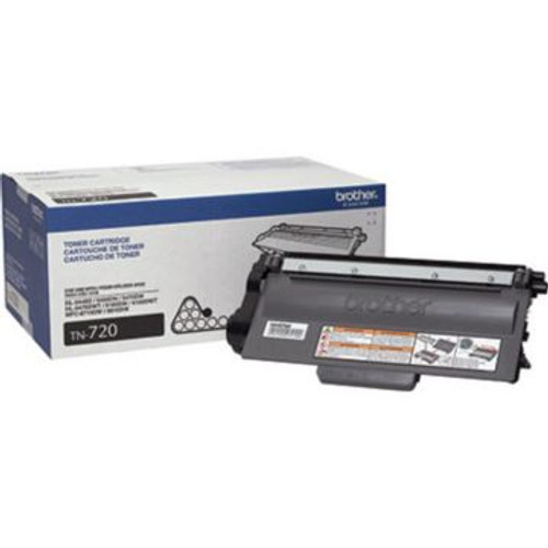 Original Brother TN-720 Black Laser Toner Cartridge