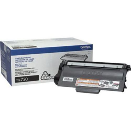 Original Brother TN-750 Black High-Yield Toner Cartridge