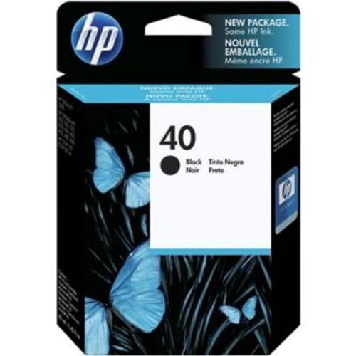 Original HP 40 Black Inkjet Cartridge