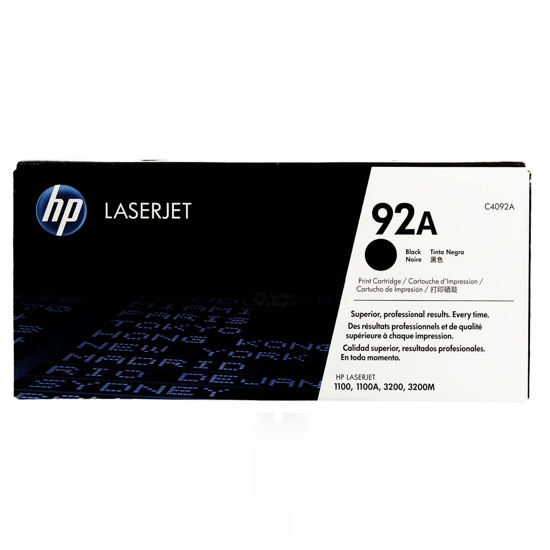 C4092A | HP 92A | Original HP LaserJet Toner Cartridge - Black