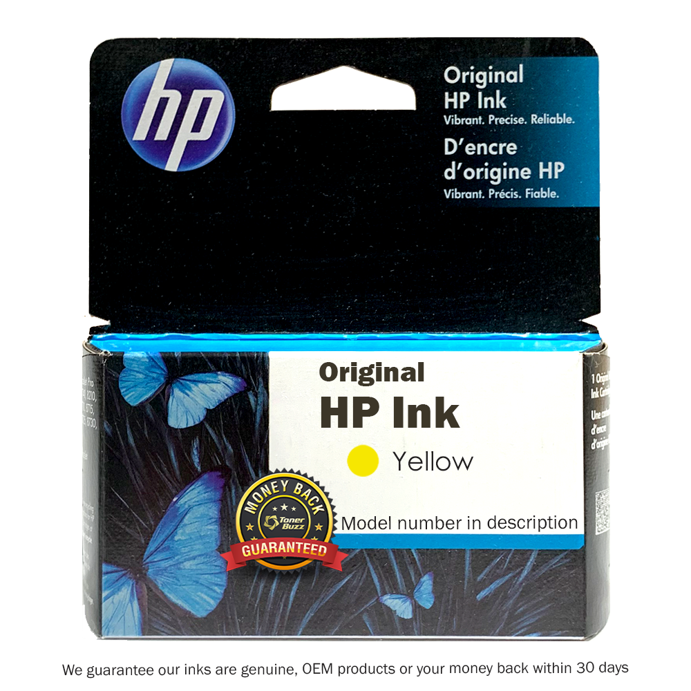 Original HP C4909AN#140 OJ 940XL Yellow Ink
