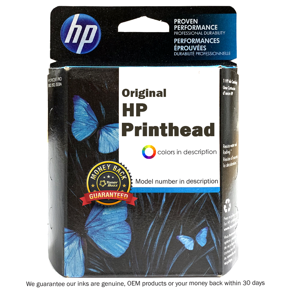 Original HP Printhead Cartridge for DesignJet Z2100, Z3100, Matte Black/Cyan