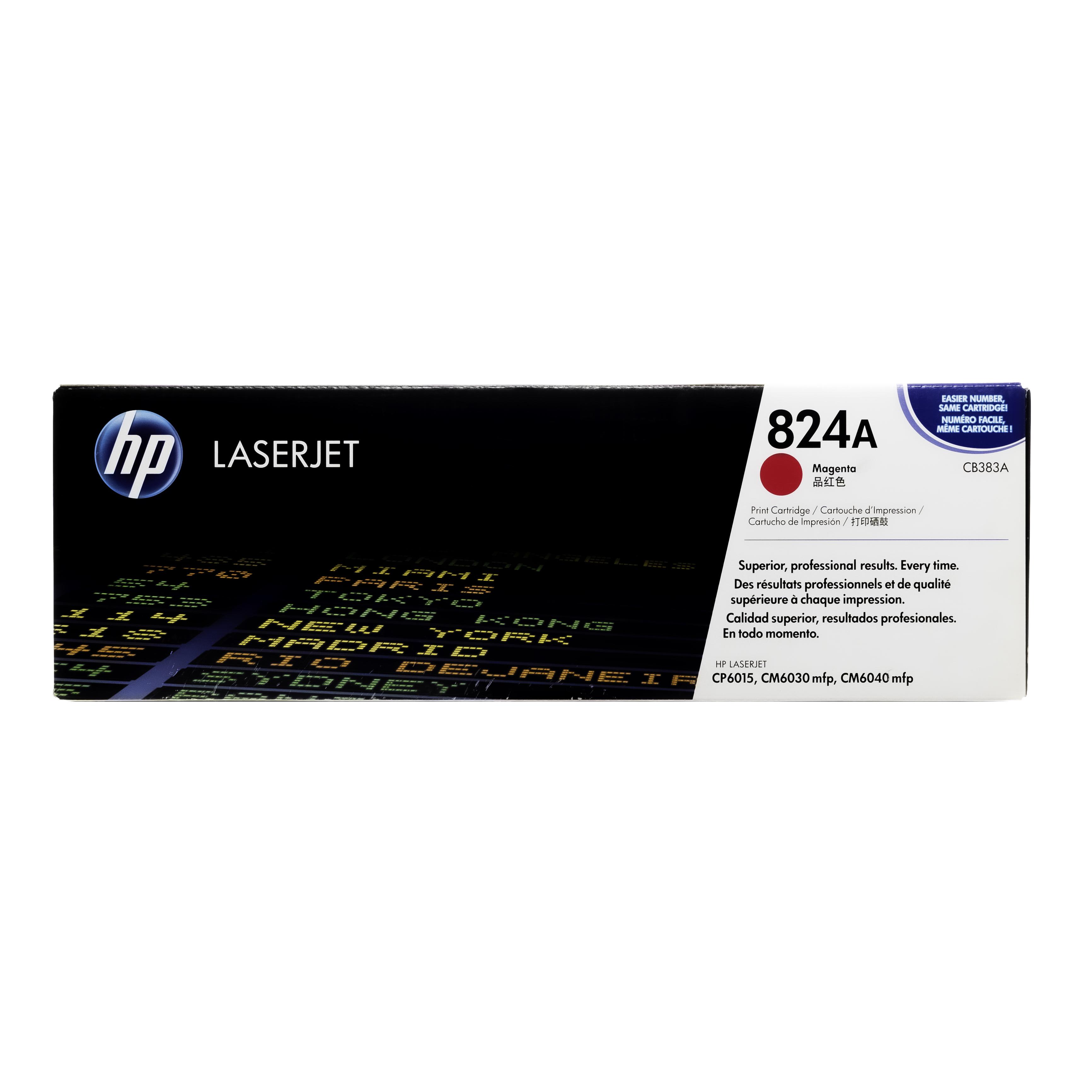 CB383A | HP 824A | Original HP Toner Cartridge – Magenta