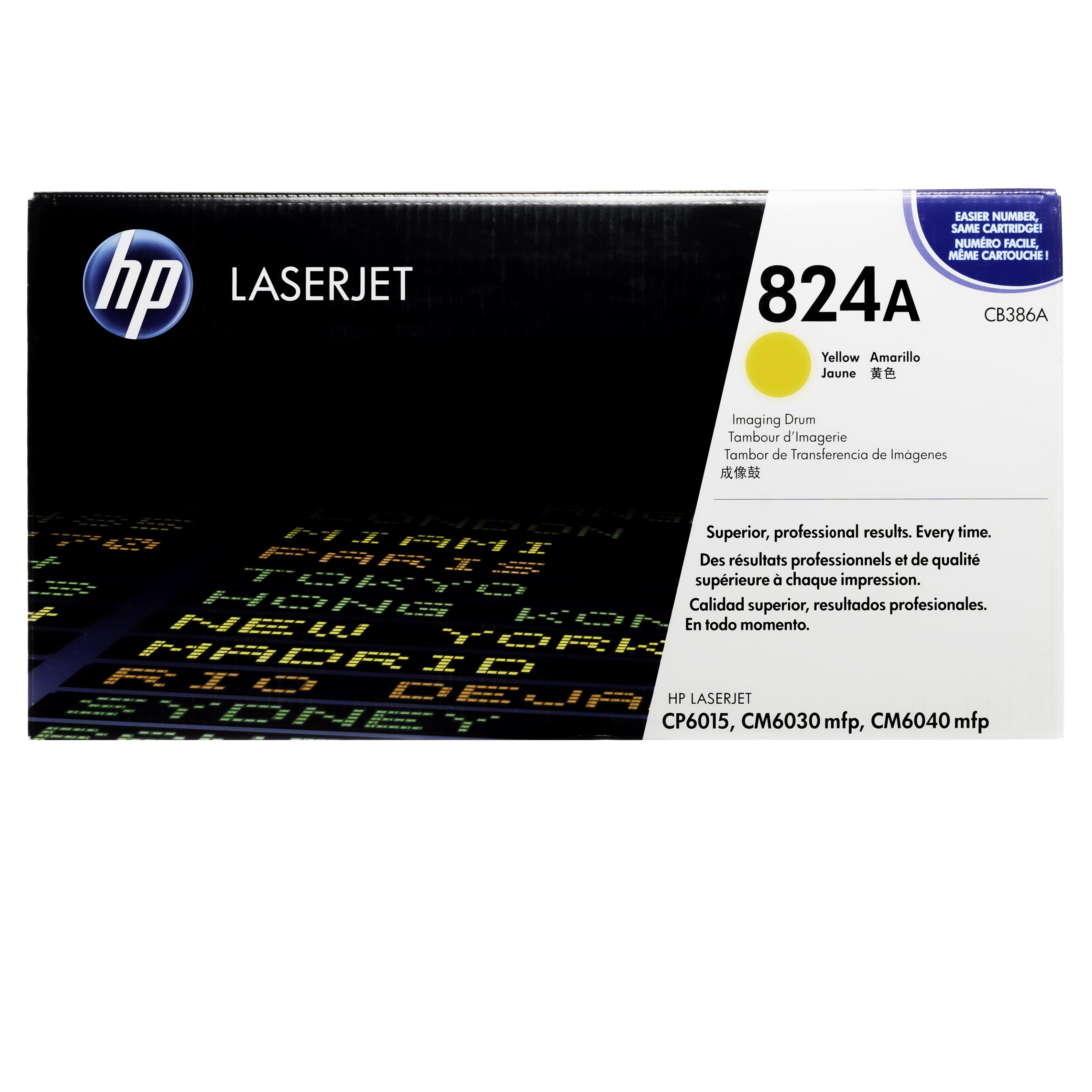 CB386A | HP 824A | Original HP Drum Unit – Yellow