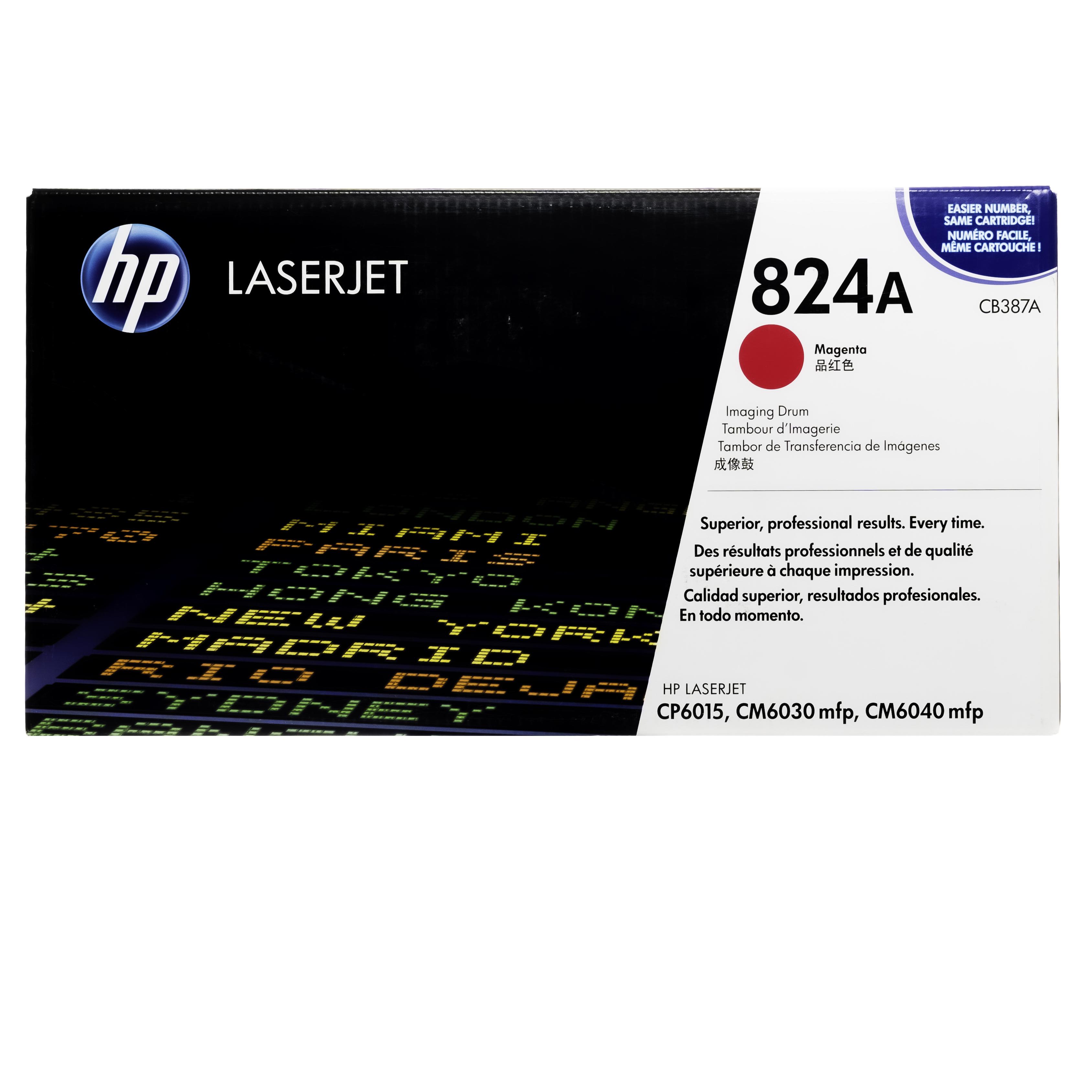 CB387A | HP 824A | Original HP Drum Unit – Magenta