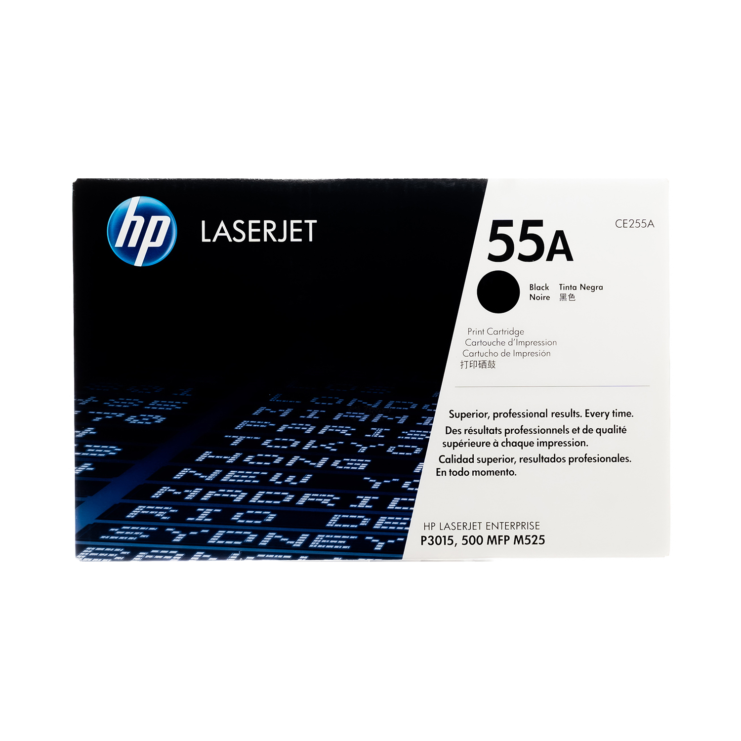 CE255A  | HP 55A | Original HP LaserJet Toner Cartridge - Black