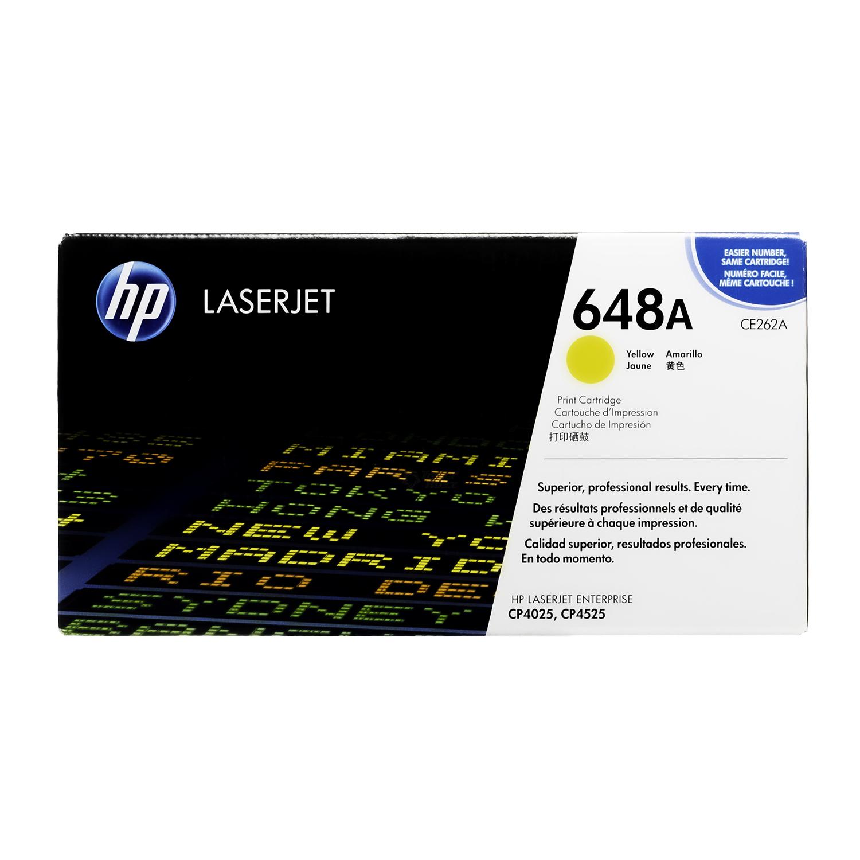 CE262A | HP 648A | Original HP Toner Cartridge – Yellow