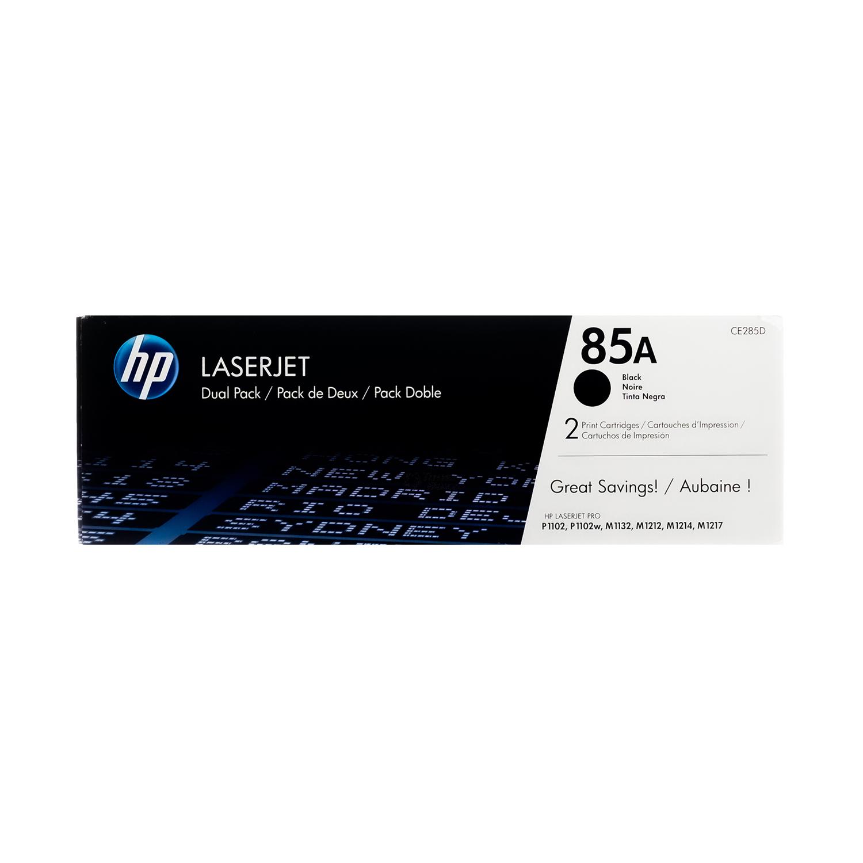 CE285D | HP 85A | Original HP Dual Pack Toner Cartridges – Black