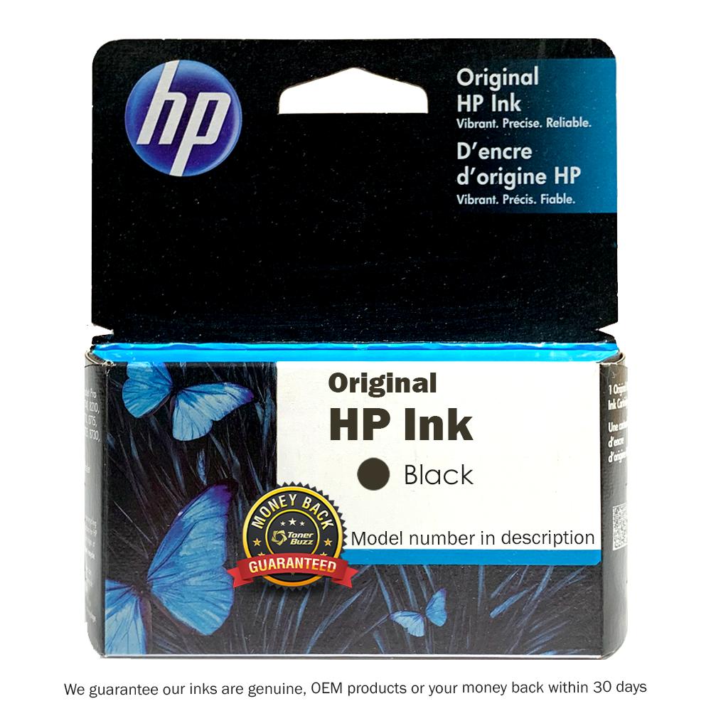 Original HP 82 Black Inkjet Cartridge