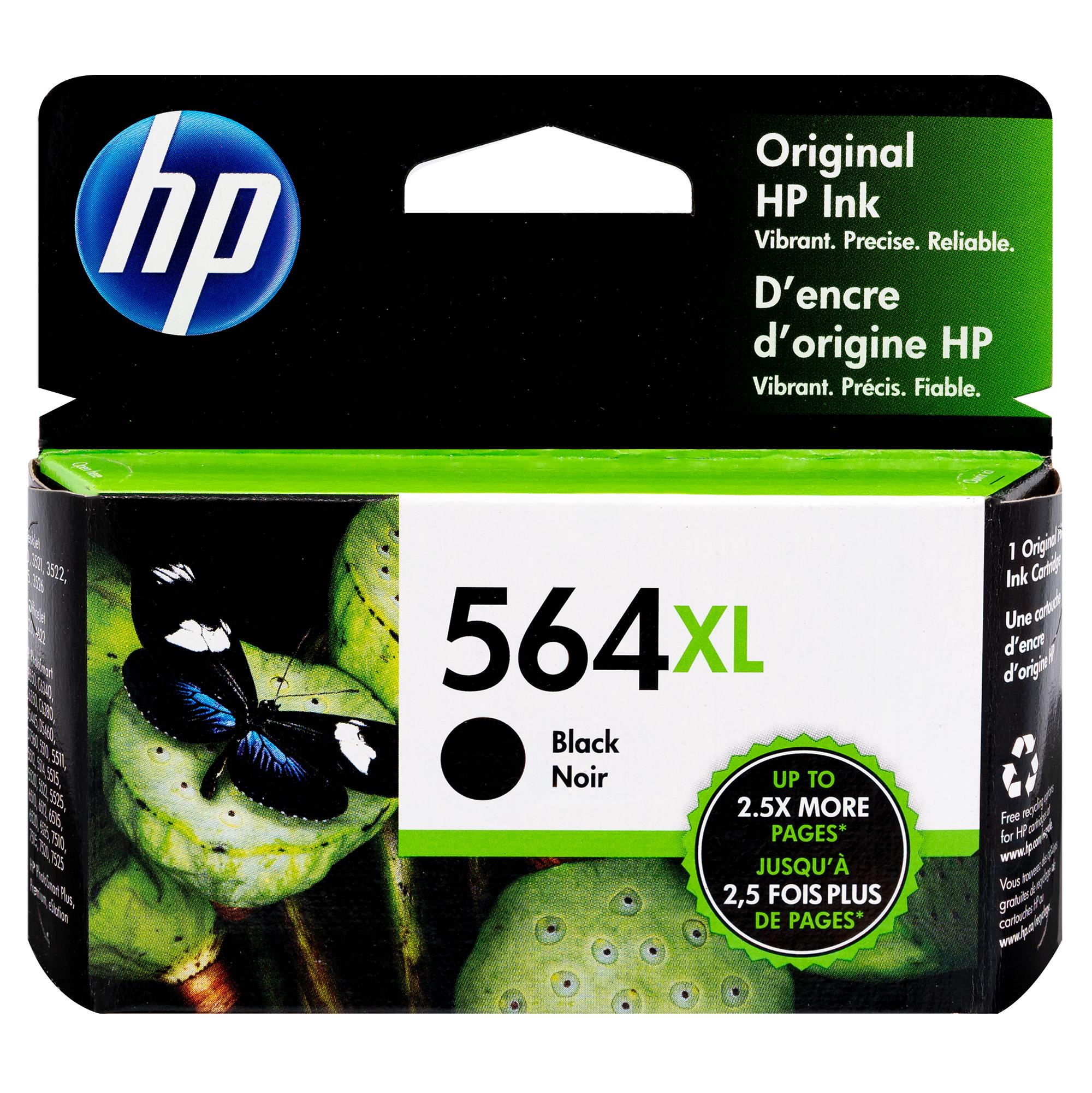 CN684WN | HP 564XL | Original HP High-Yield Ink Cartridge – Black