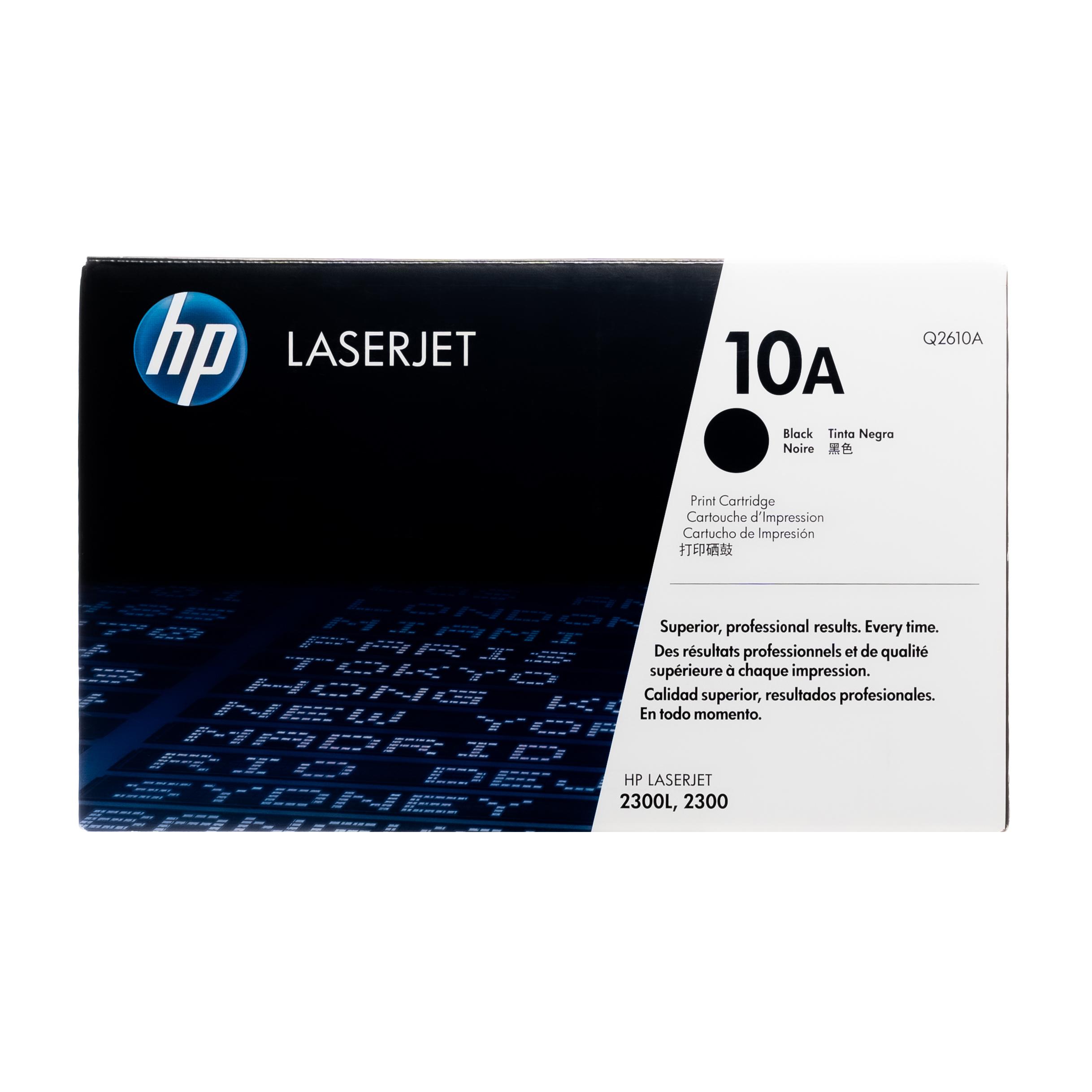 Q2610A | HP 10A | Original HP Toner Cartridge – Black