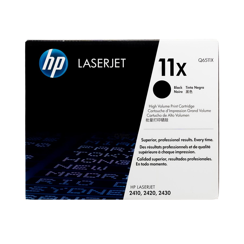 Q6511X | HP 11X | Original HP High-Yield Toner Cartridges – Black