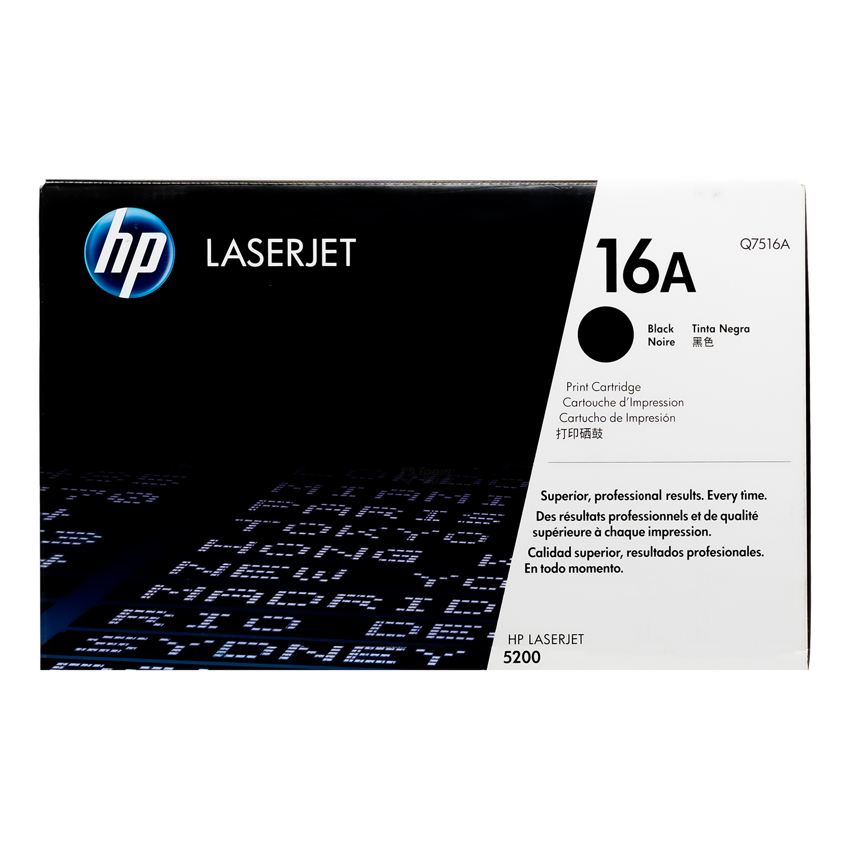 Q7516A | HP 16A | Original HP Toner Cartridge – Black