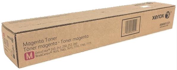 Original Xerox 006R01221 Docu240/Wc7765 Magenta Toner