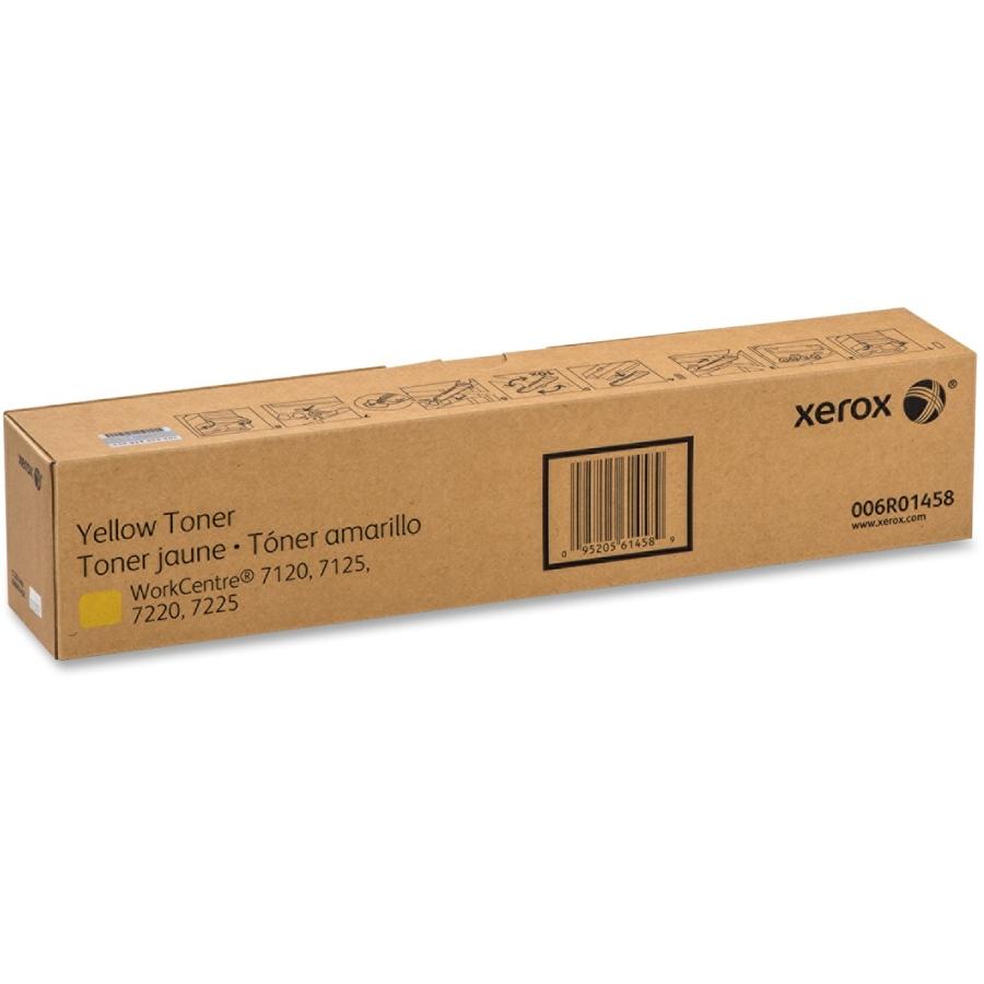 006R01458 | Original Xerox WorkCentre 7120 Toner Cartridge - Yellow