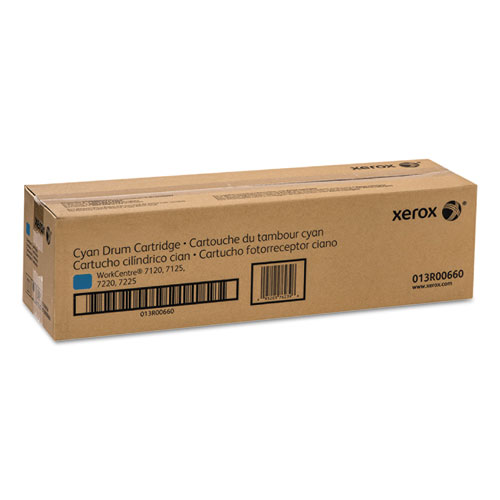 Original Xerox 013R00660 WorkCentre 7120 Cyan Drum