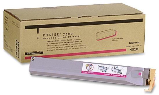 Original Xerox 016-1974-00 Phaser 7300 Magenta Toner