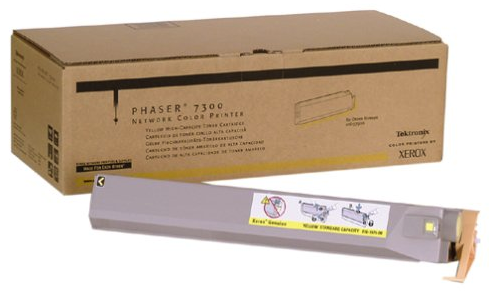 Original Xerox 016-1979-00 Phaser 7300 Yellow Toner High Capacity