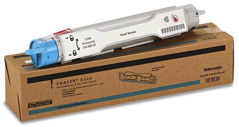 Original Xerox 016-2005-00 Phaser 6200 Cyan Toner High Capacity