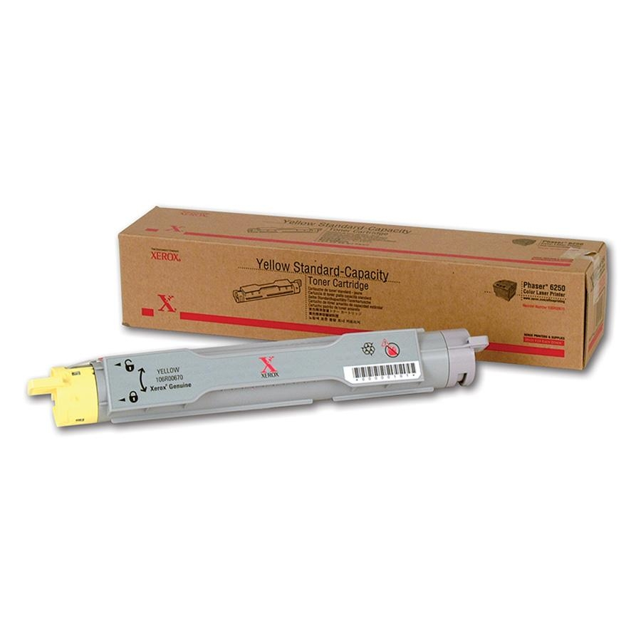 106R00670 | Original Xerox Laser Toner Cartridge - Yellow