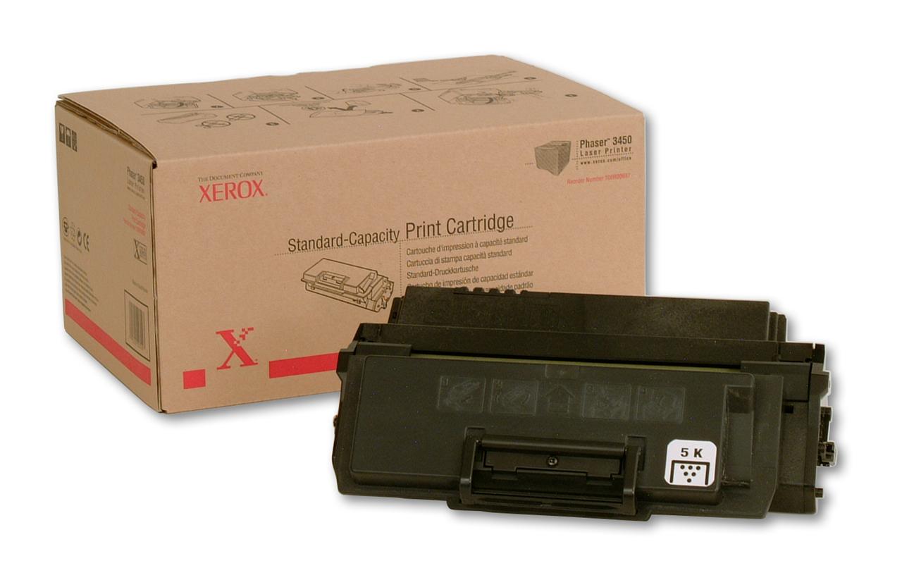 Original Xerox 106R00687 Black Toner Cartridge for Phaser 3450