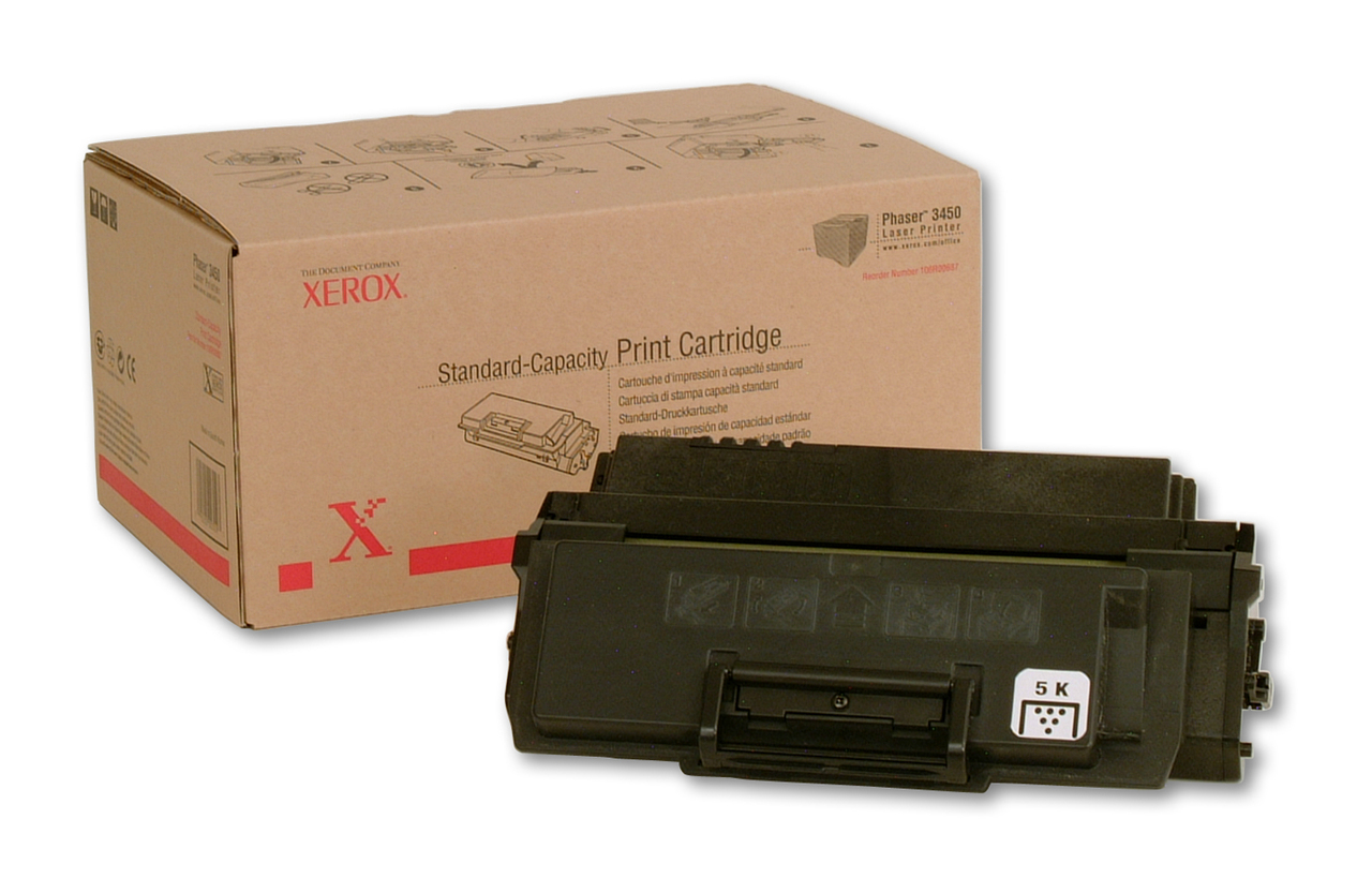 Original Xerox 106R00687 Black Toner Cartridge for Phaser 3450