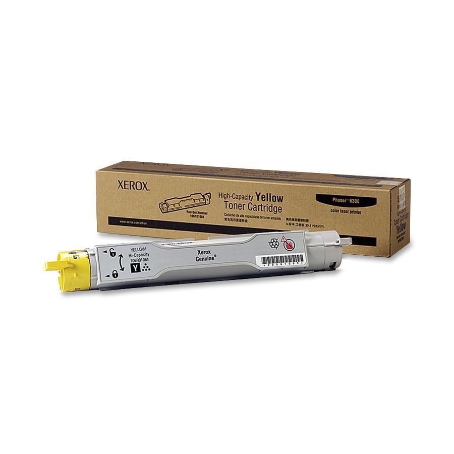106R01084 | Original Xerox High - Capacity Laser Toner Cartridge - Yellow