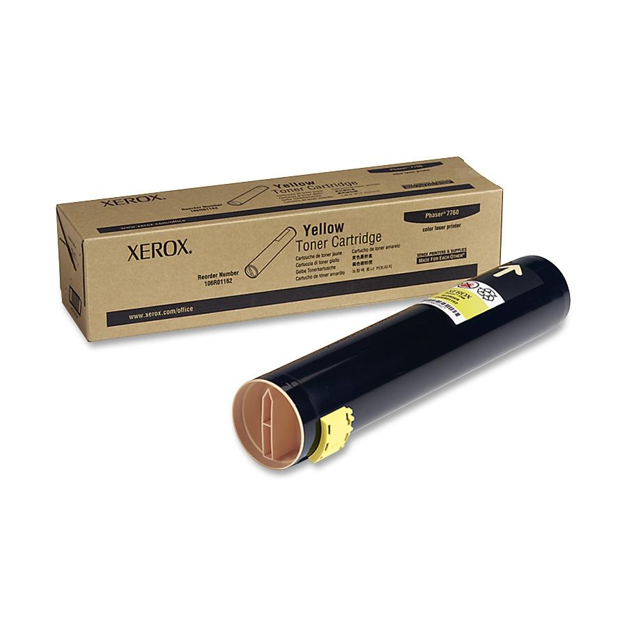 106R01162 | Original Xerox Toner Cartridge – Yellow