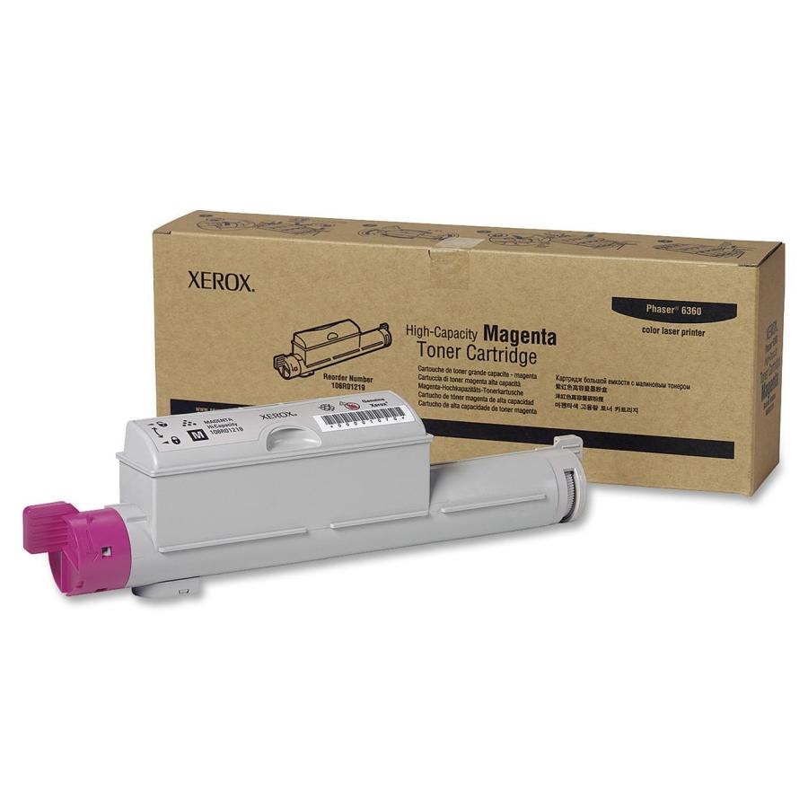 106R01219 | Original Xerox High-Yield Laser Toner Cartridge - Magenta