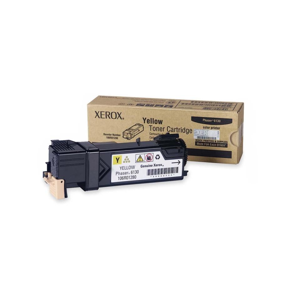 106R01280   Original Xerox Laser Toner Cartridge - Yellow