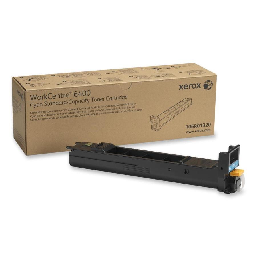 106R01320 | Original Xerox WC6400 Toner Cartridge - Cyan