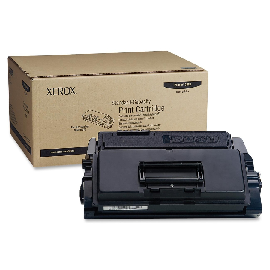 106R01371 | Original Xerox High - Capacity Laser Toner Cartridge - Black