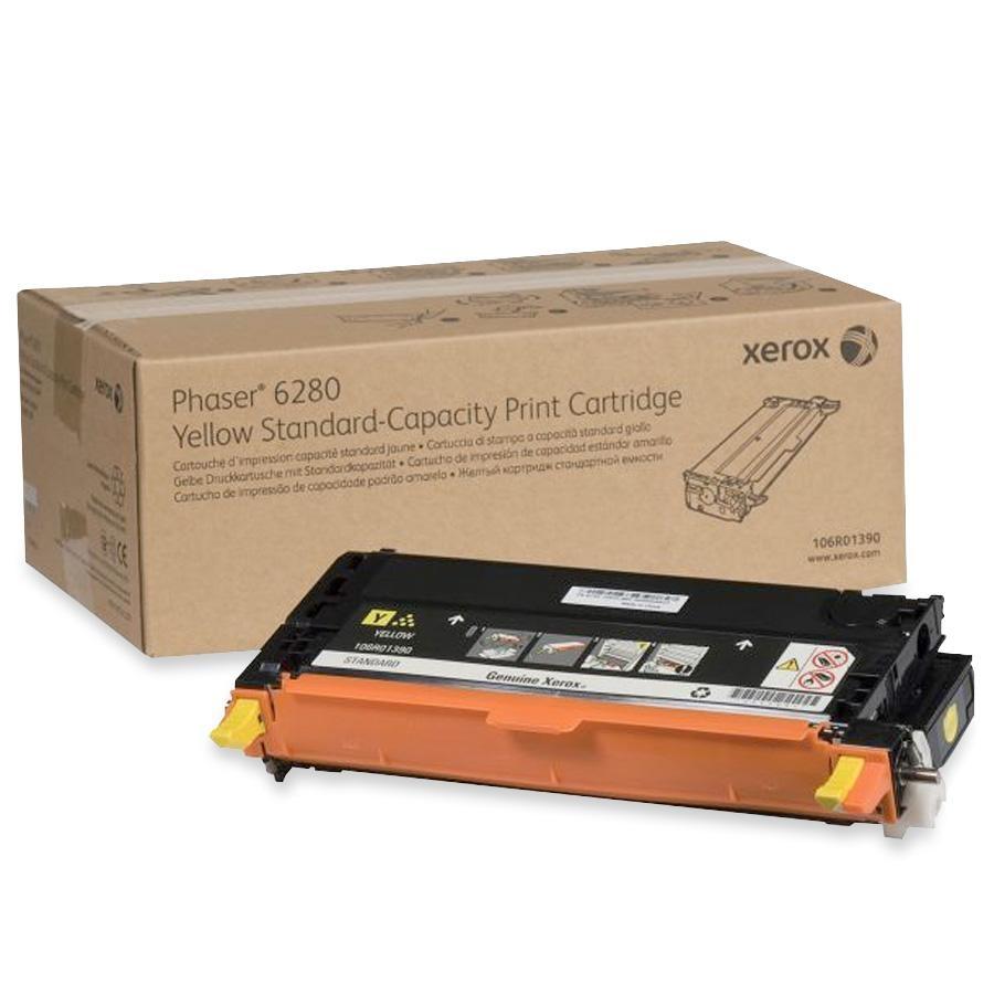 106R01390   Original Xerox Laser Toner Cartridge - Yellow
