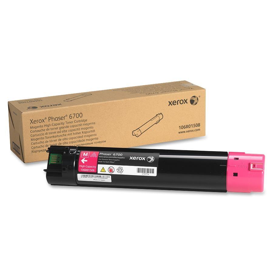 106R01508 | Original Xerox High-Yield Toner Cartridge – Magenta