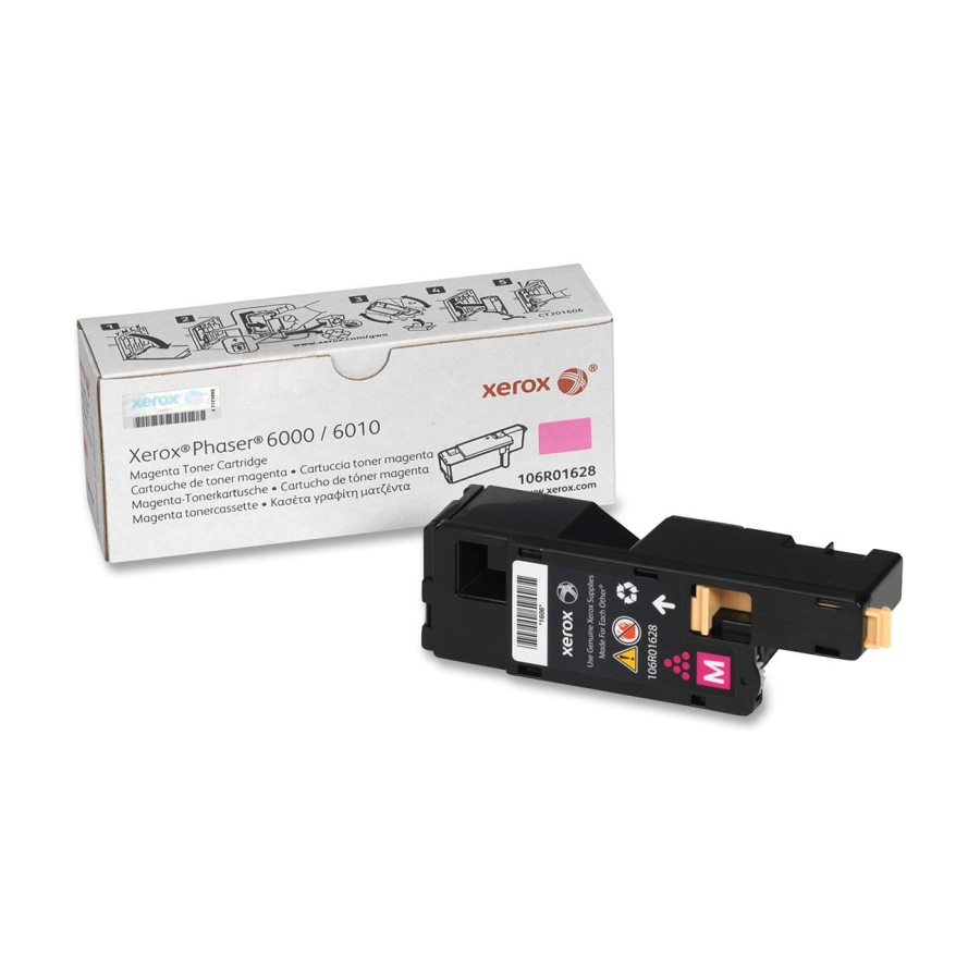 106R01628   Original Xerox Phaser 6000/6010 Toner Cartridge - Magenta