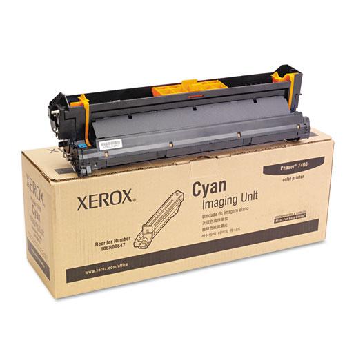 Original Xerox 108R00647 Laser Cyan Imaging Unit for Phaser 7400