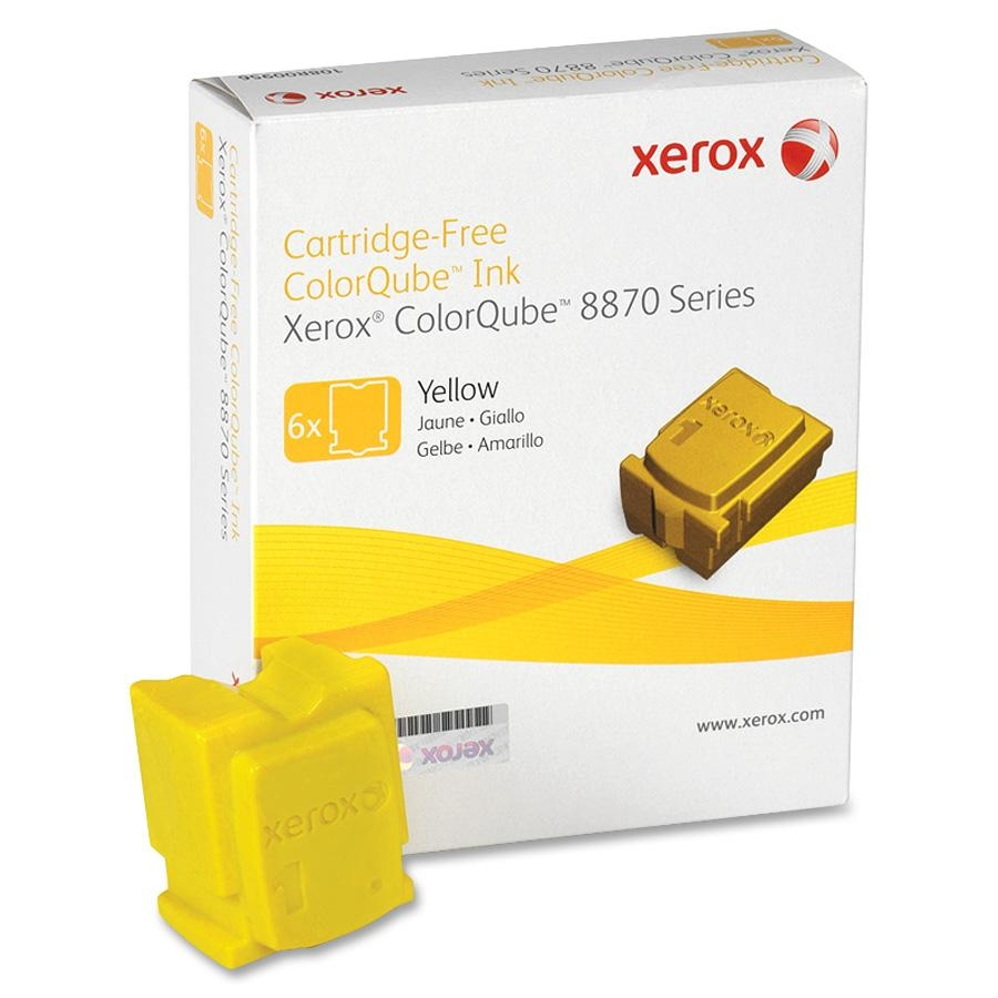 108R00952   Original Xerox Ink Cartridge 6-Pack – Yellow