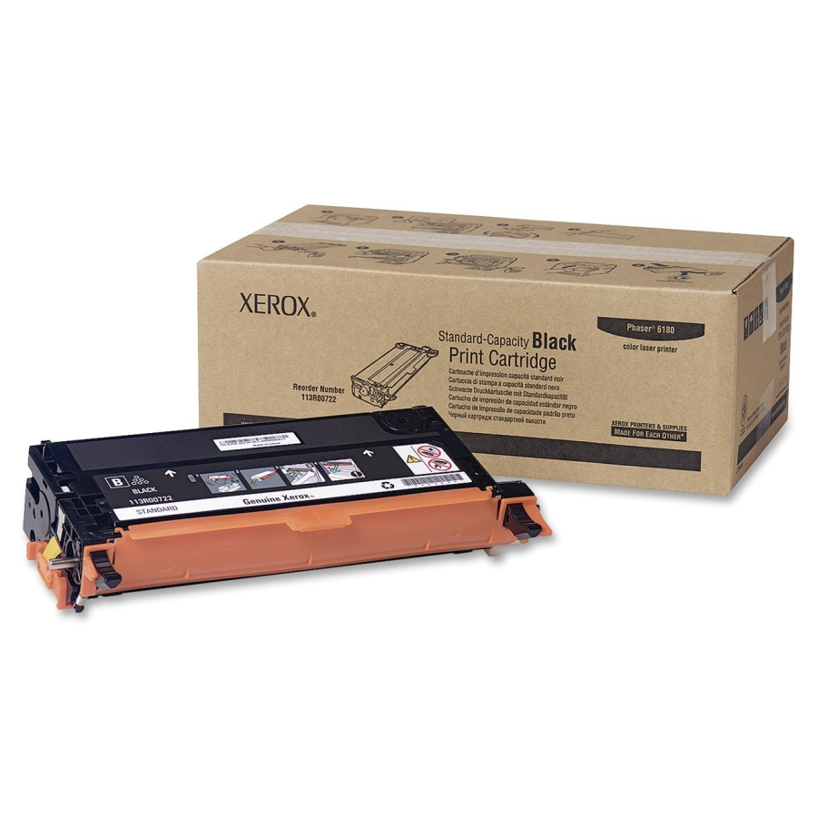 113R00722 | Original Xerox Toner Cartridge – Black