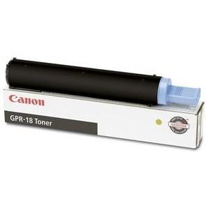 Original Canon GPR-18 0384B003AA Black Laser Toner Cartridge imageRUNNER 2016, 2020 Printer