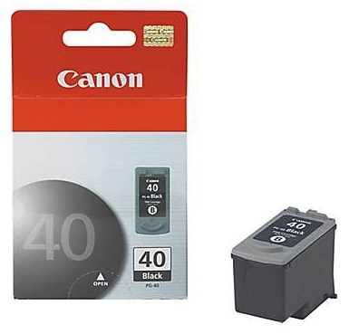 Original Canon Pg-40 0615B002AA Black Ip1600