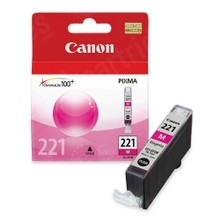 Original Canon CLI221 2948B001 Magenta Inkjet Cartridge