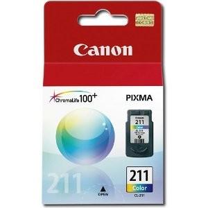 Original Canon CL211 Color Inkjet Cartridge for MP240, MP480 &amp MX330
