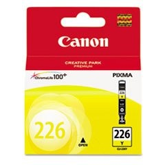 Original Canon CLI226 4549B001AA Yellow Inkjet Cartridge