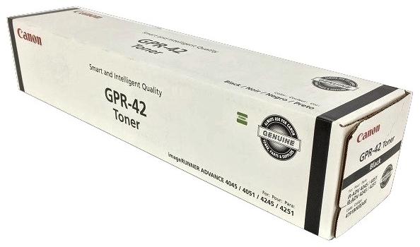 Original Canon GPR-42 4791B003AA Black Toner Cartridge